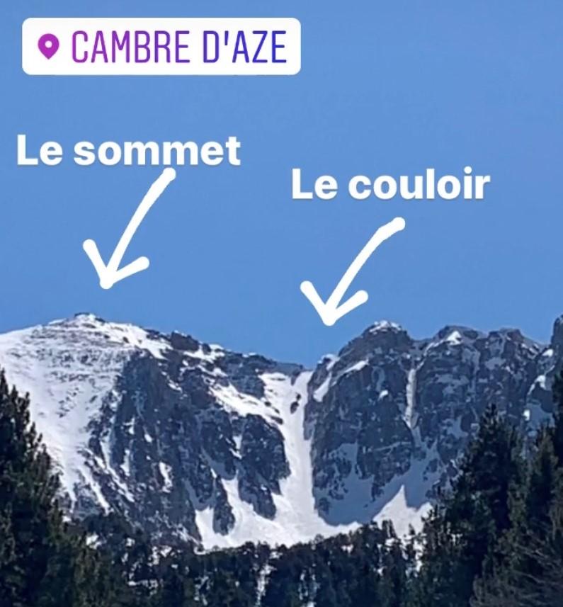 Ascension solo Cambre d'Aze et couloir GrandeCheminée