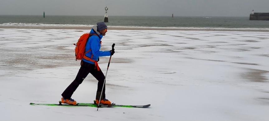 Ski de randoQuiberon!!!